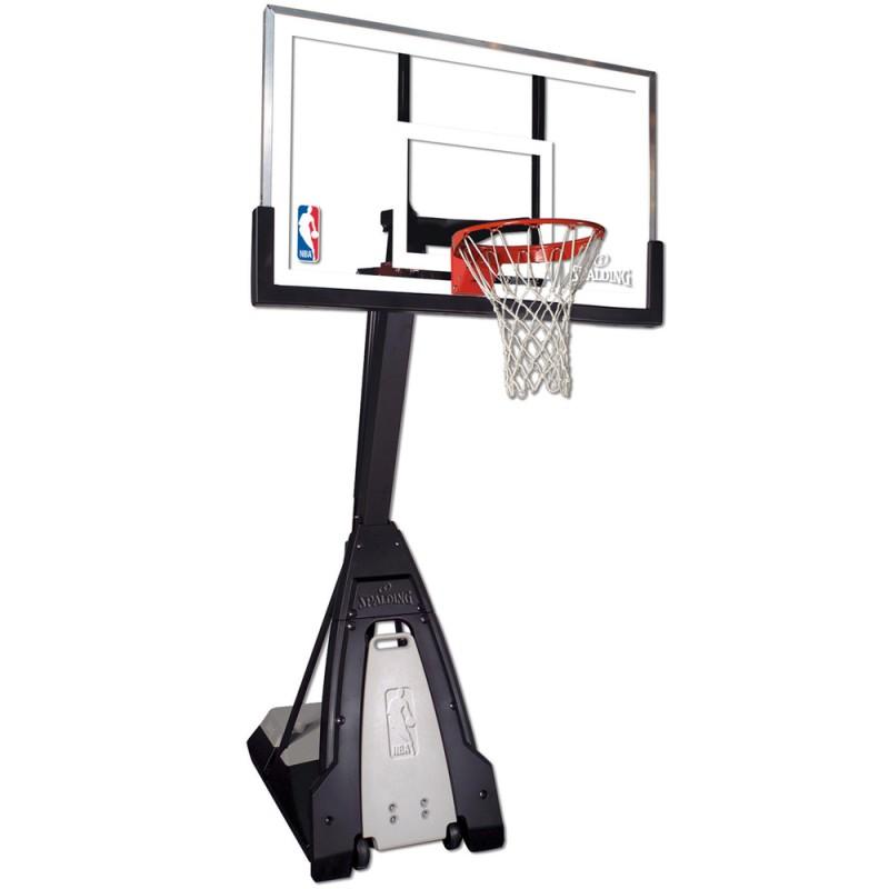 Полупрофессиональная передвижная баскетбольная стойка Spalding: фото