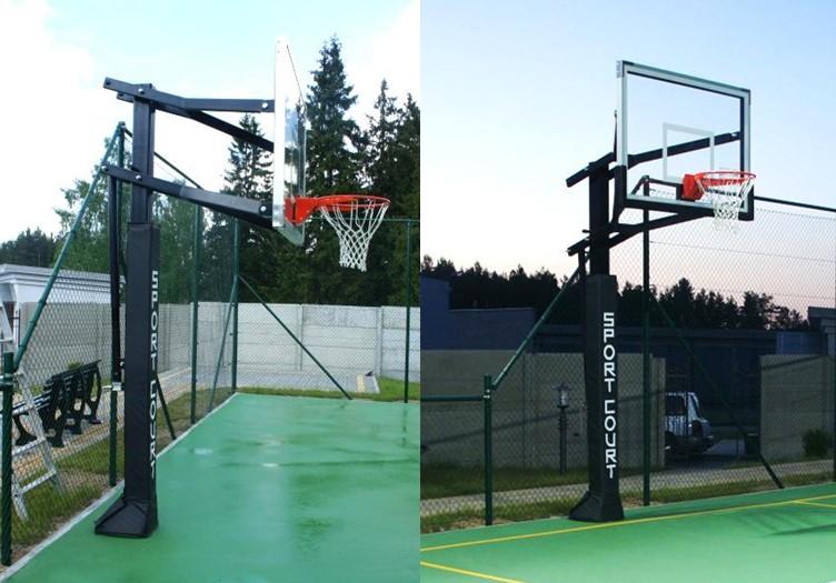 Полупрофессиональная баскетбольная система SportCourt: фото