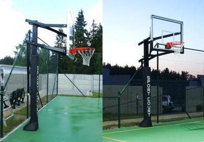 Полупрофессиональная баскетбольная система SportCourt