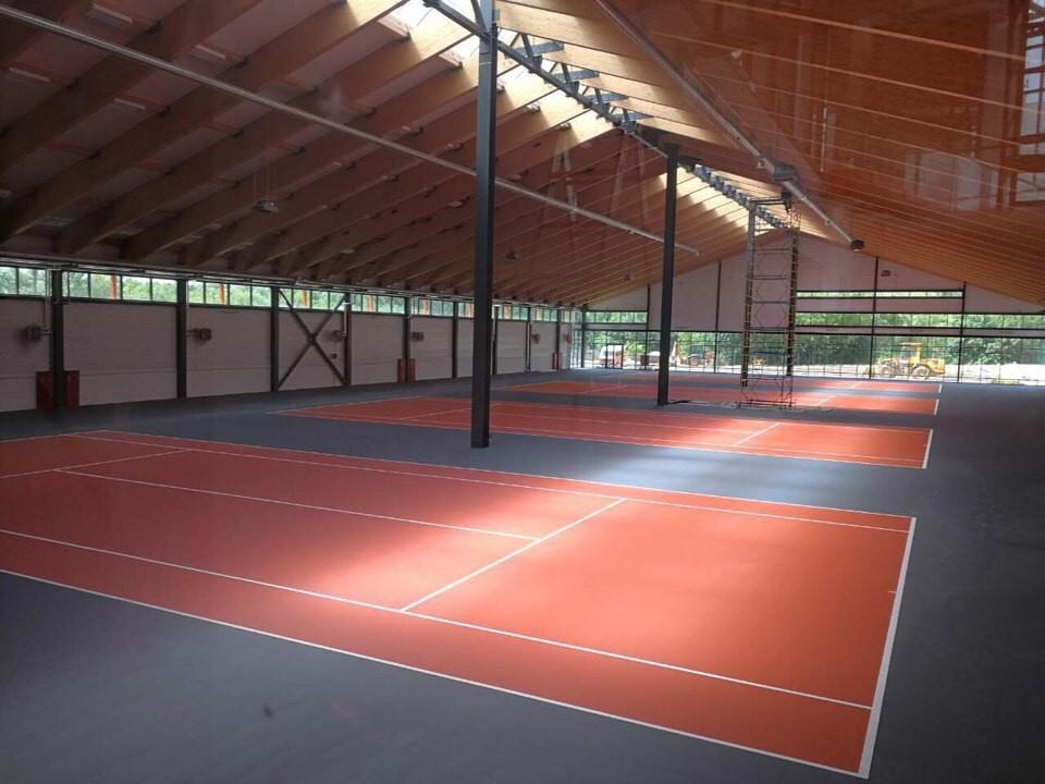 Теннисный корт на улице Ефросиньи Полоцкой, г. Минск: фото