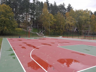Спортивная площадка в РЦОП Стайки