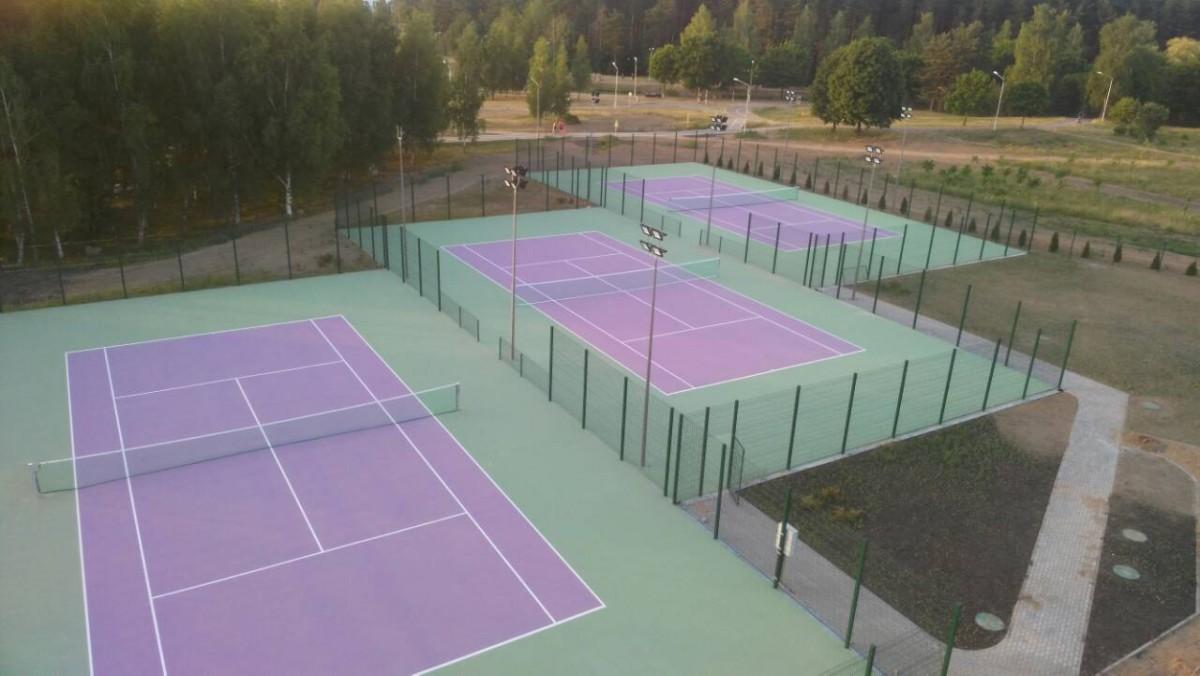 Теннисный клуб на пересечении улиц Воропаевская-Мирошниченко: фото