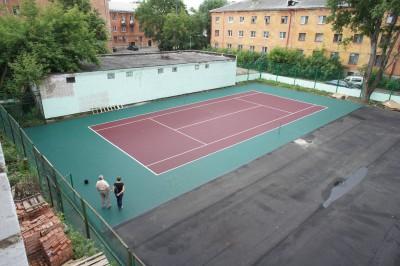 Теннисные корты. г. Великие Луки, РФ