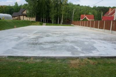 Частный теннисный корт в пос.Раубичи, Беларусь